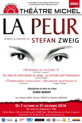 La Peur au Théâtre Michel