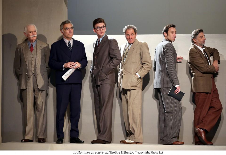 12 Hommes en Colère, Théâtre Hébertot