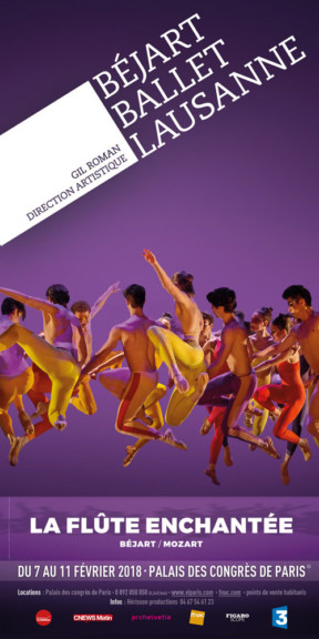 Béjart Ballet Lausanne : La Flûte Enchantée