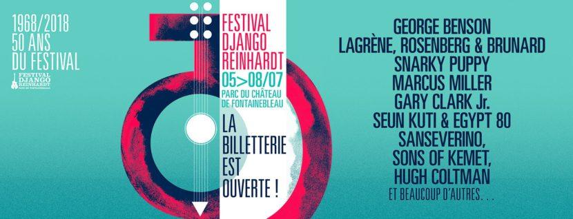 Festival Django Reinhardt, Fontainebleau