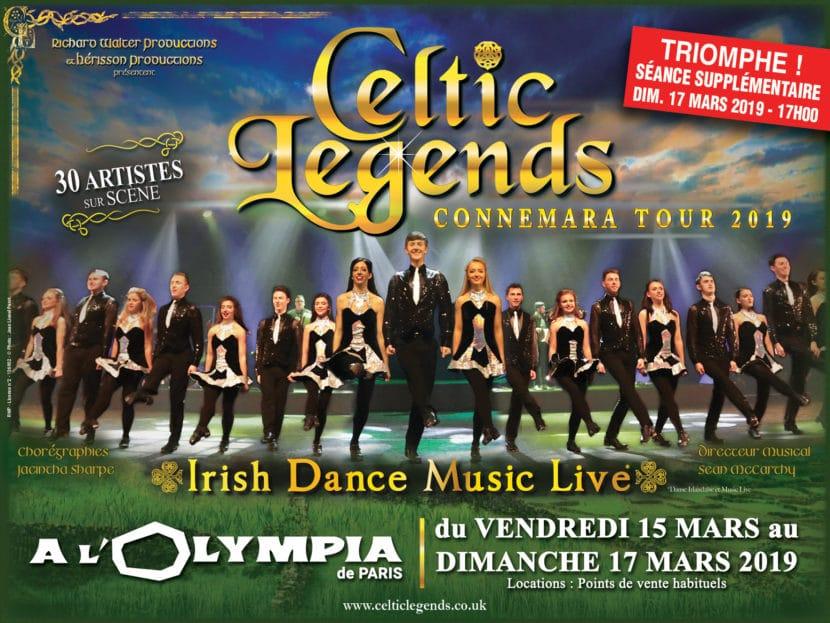 Celtic Legends - tournée française