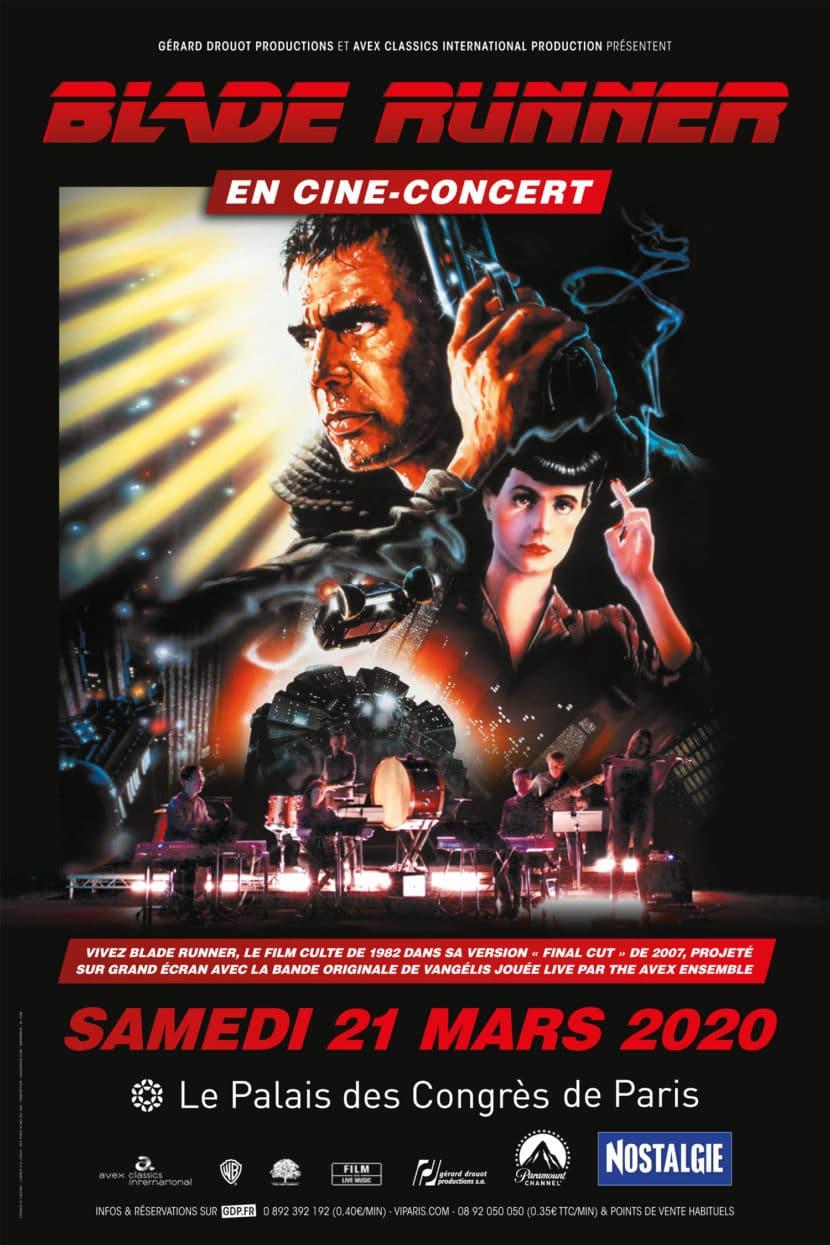 Blade Runner en ciné concert au Palais des Congrès à Paris