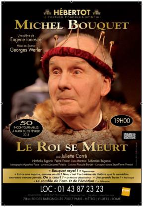 Le Roi se Meurt, avec Michel Bouquet