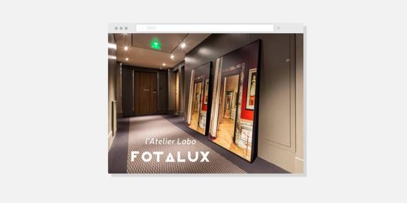Atelier labo Fotalux