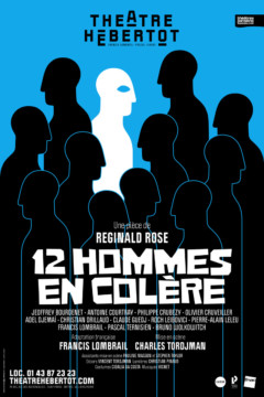 12 Hommes en Colère au Théâtre Hébertot