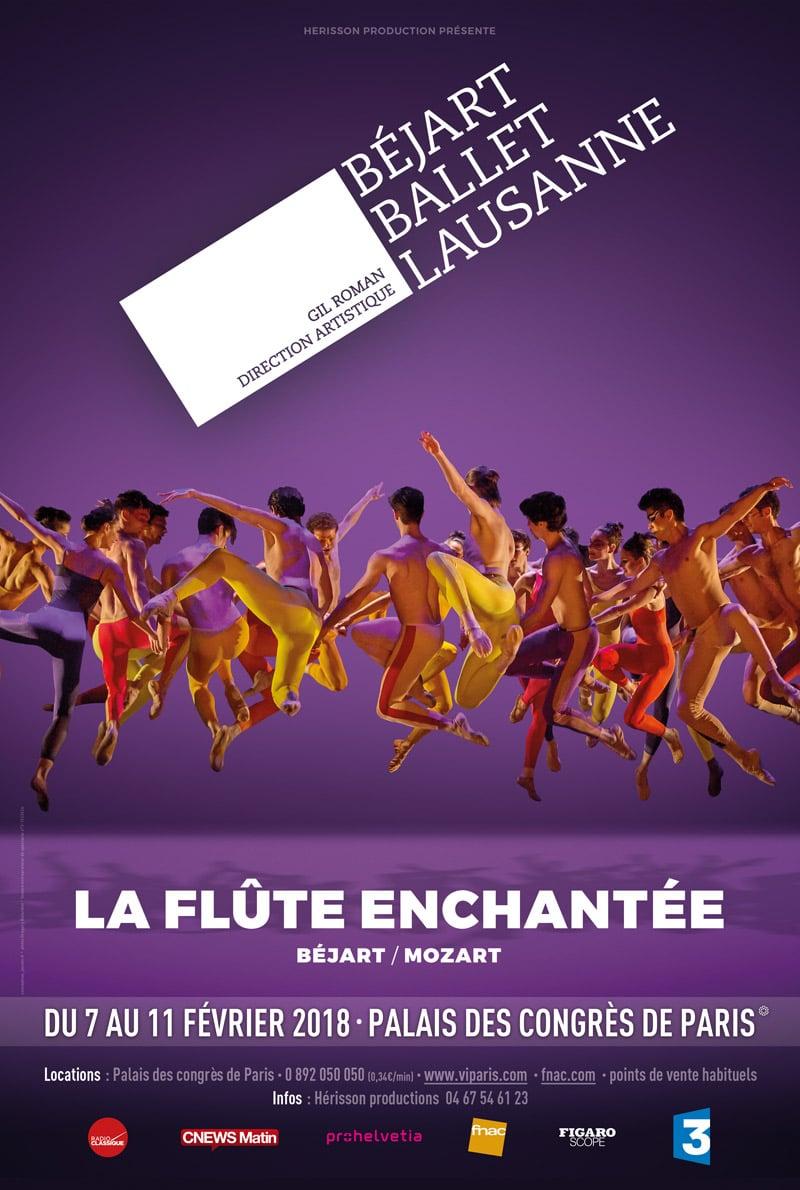 Béjart Ballet Lausanne, La Flûte Enchantée, Palais des Congrès