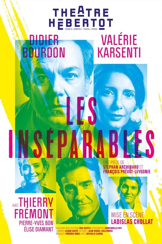 LES Inséparables - Théâtre Hébertot