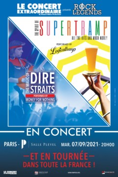 ROCK LEGENDS : Tribute to Dire Straits & Supertramp